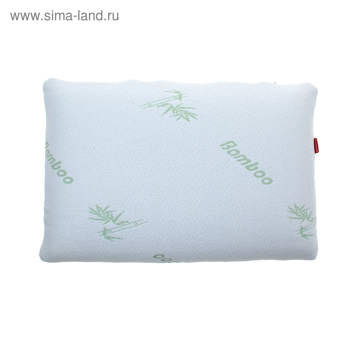 "Подушка ""Грёзы классика"" с памятью формы, размер 55х35х10-12 см, пенополиуритан, трикотаж"