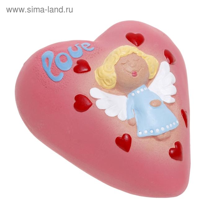 "Копилка ""Сердце с ангелом"""