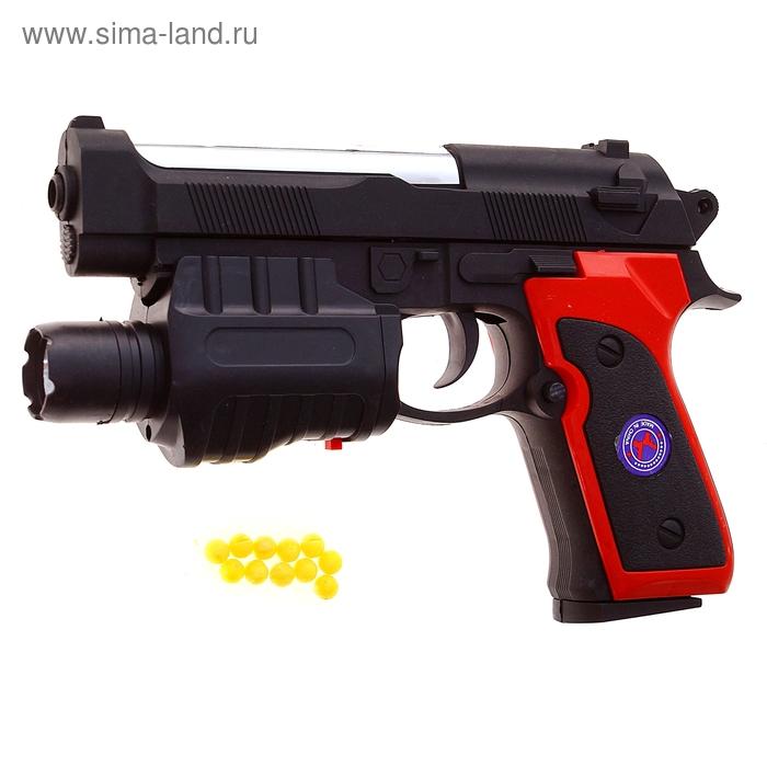 """Пистолет пневматический """"Полицейский"""" с лазером"""