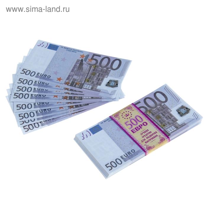 """Пачка купюр """"500 евро"""""""