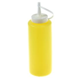 Емкость для соуса 375 мл желтая Ош
