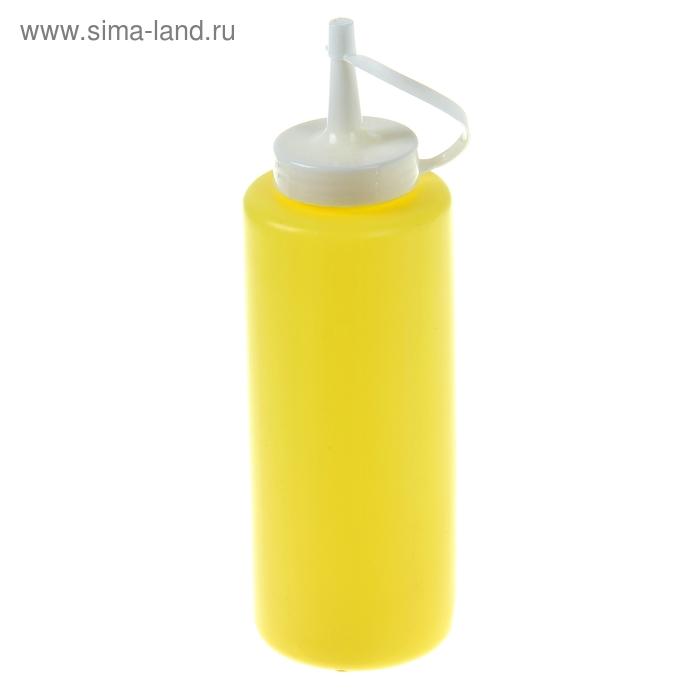 Емкость для соуса 375 мл желтая