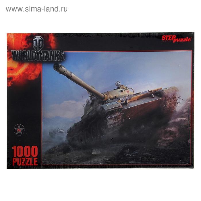 Пазлы World of Tanks, 1000 элементов