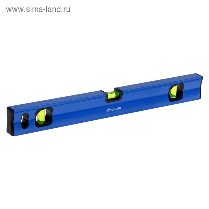 Уровень строительный TUNDRA comfort, алюминиевый, магнитный, 3 глазка, 50 см