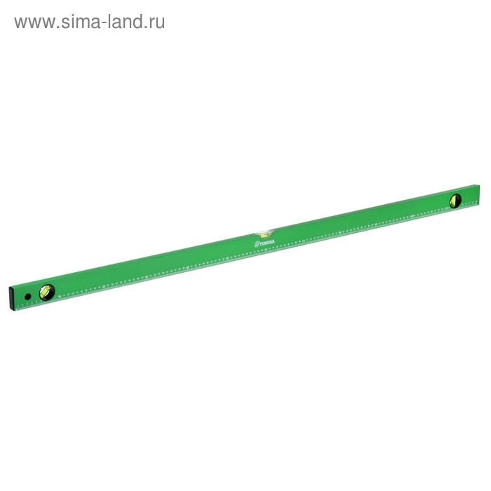 Уровень строительный TUNDRA basic, 3 глазка с линейкой, 120 см