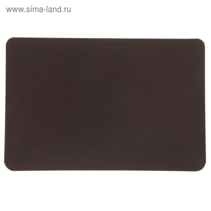 Доска разделочная, 45*30*1,3 см, коричневая