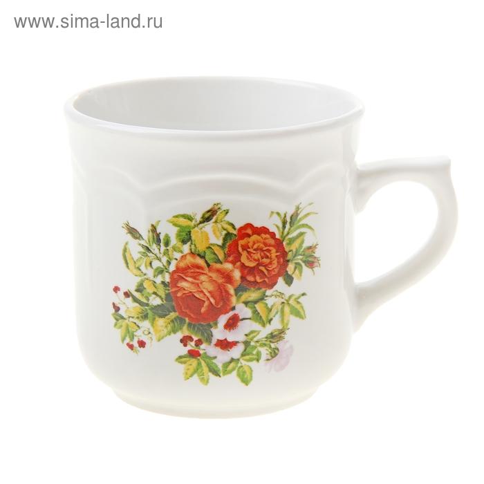 """Кружка """"Любимые цветы"""", 290 мл"""