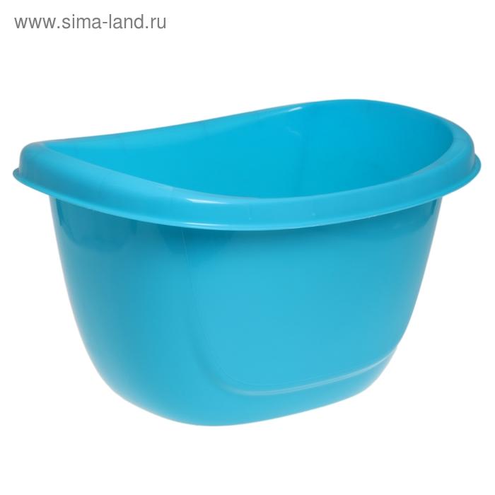 """Таз пластиковый 16 л """"Ориджинал"""", цвет бирюза"""