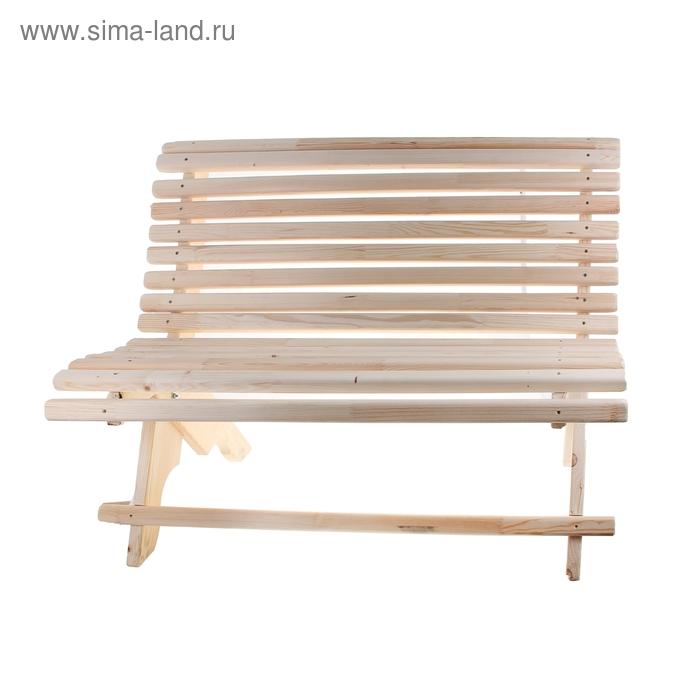 Скамейка садовая 60х135х89 см