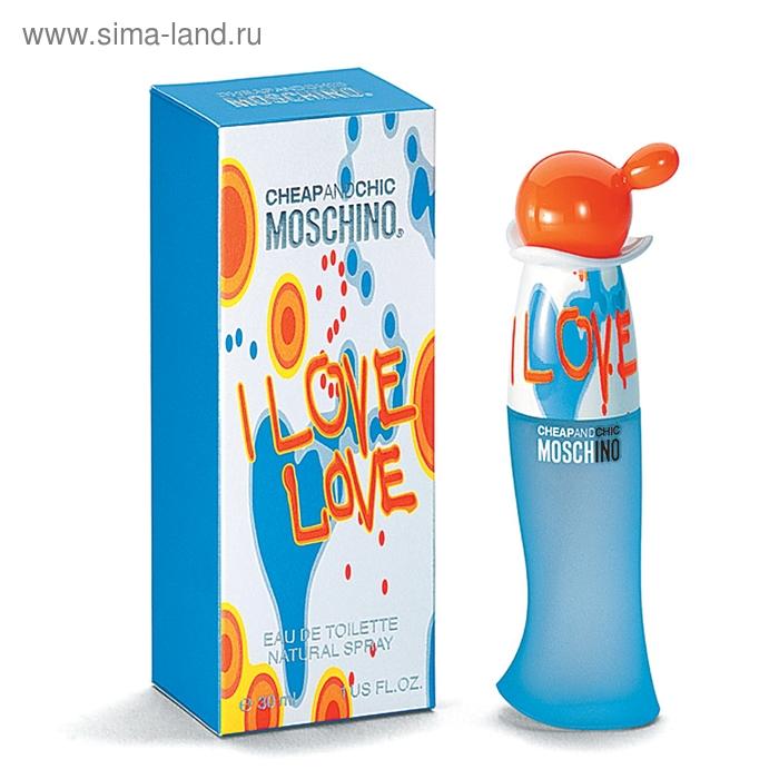 Туалетная вода Moschino I Love Love, спрей, 30 мл