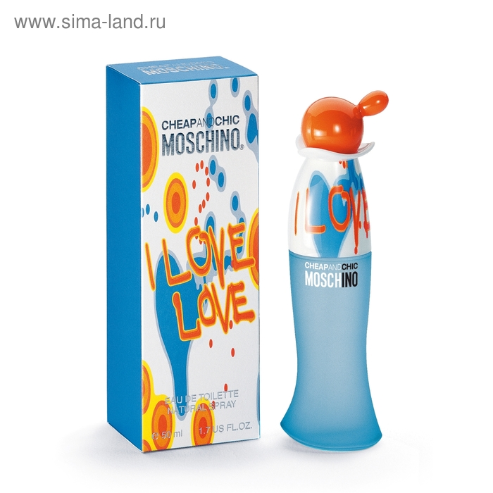 Туалетная вода Moschino I Love Love спрей 50 мл
