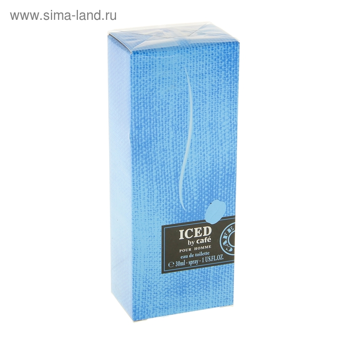 Туалетная вода-спрей Cafe-cafe Iced By Cafe Pour Homme 30 мл.