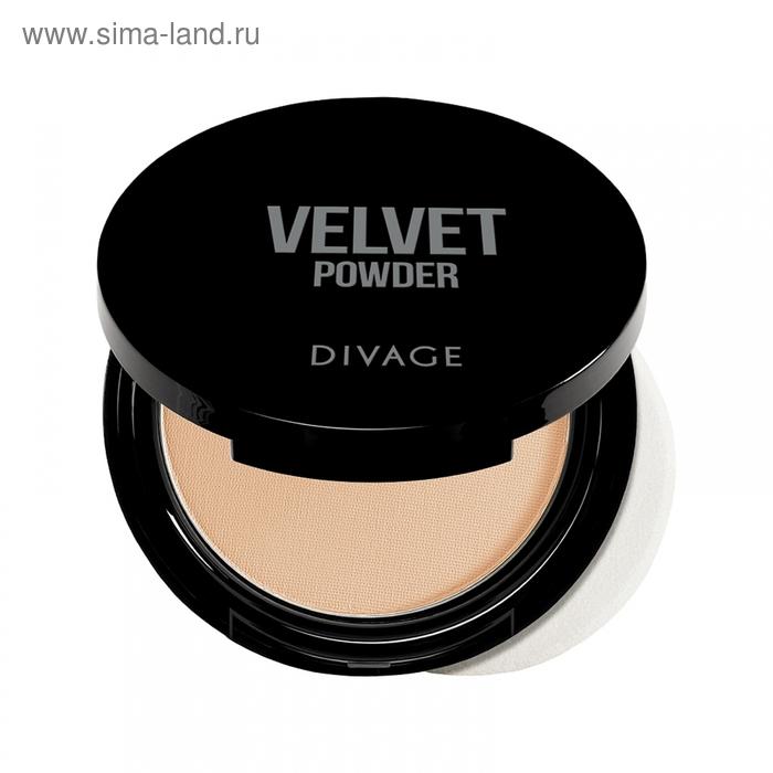 Пудра Компактная Divage, Velvet, № 5201
