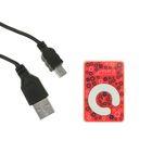 Mp3-плеер, АКБ, MicroSD, MiniUSB 5pin, микс