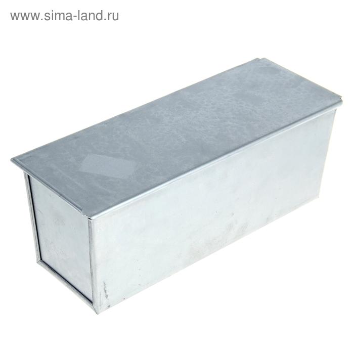"""Форма для хлеба """"Кормилица"""" алюминиевая 31х12х11 см"""