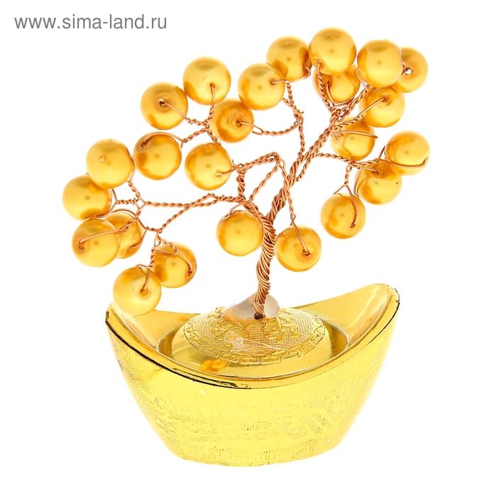 """Денежное дерево """"Золотые бусины"""""""