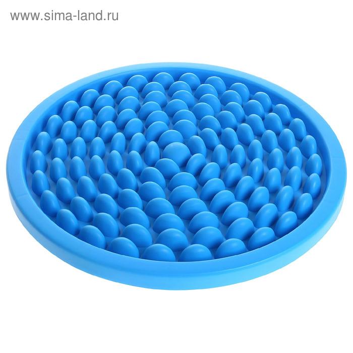 Коврик массажный d=52 см, пластик, цвета микс