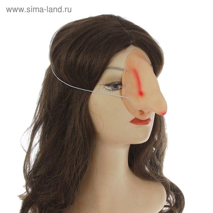 Нос на резинке длинный