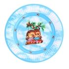 "Тарелка с ламинацией ""Ежики"", 18 см"
