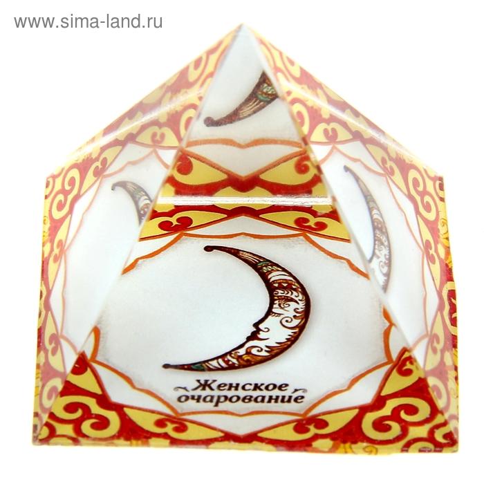 """Пирамидка с наклейкой серия Обереги """"Женское очарование"""""""