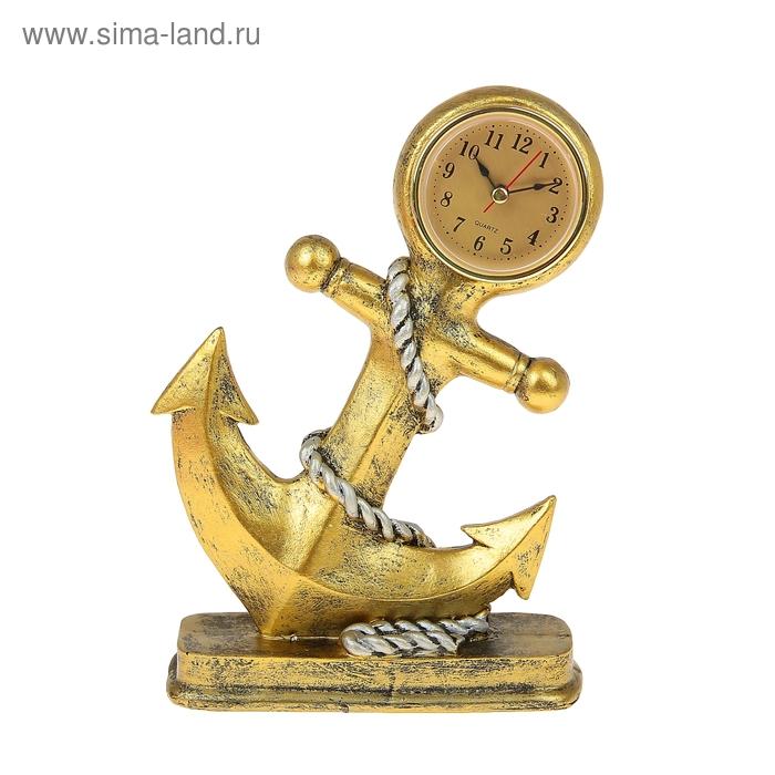 """Часы настольные """"Якорь"""""""