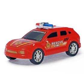 Машина инерционная 'Пожарный джип' Ош