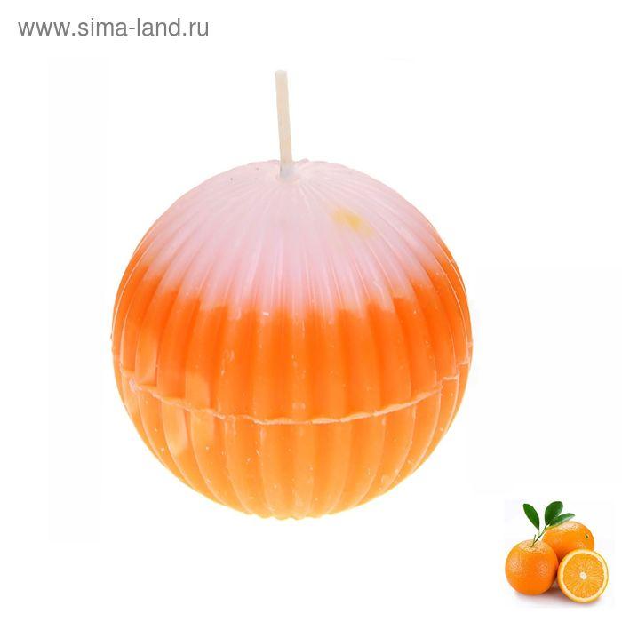 """Свеча восковая """"Шар"""", аромат апельсин"""