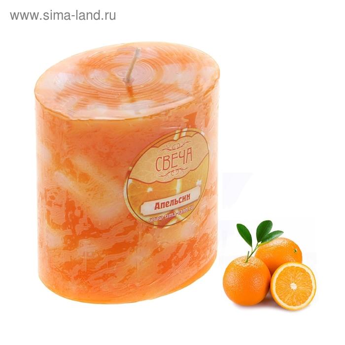 """Свеча восковая """"Слияние"""", аромат апельсин"""