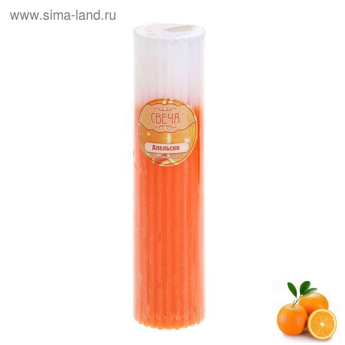 """Свеча восковая """"Резная"""", аромат апельсин"""