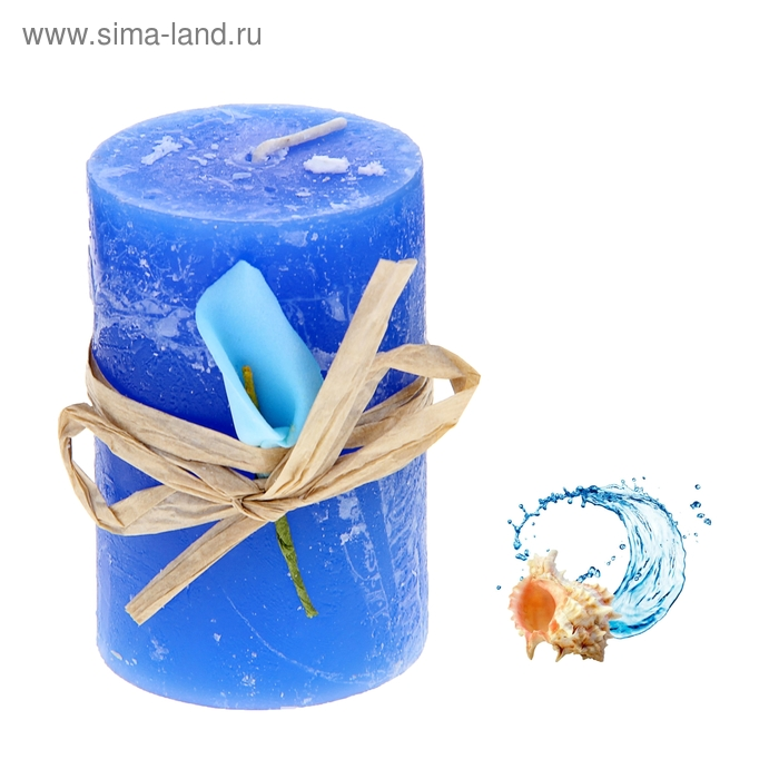 """Свеча восковая """"Иней"""", аромат океан"""