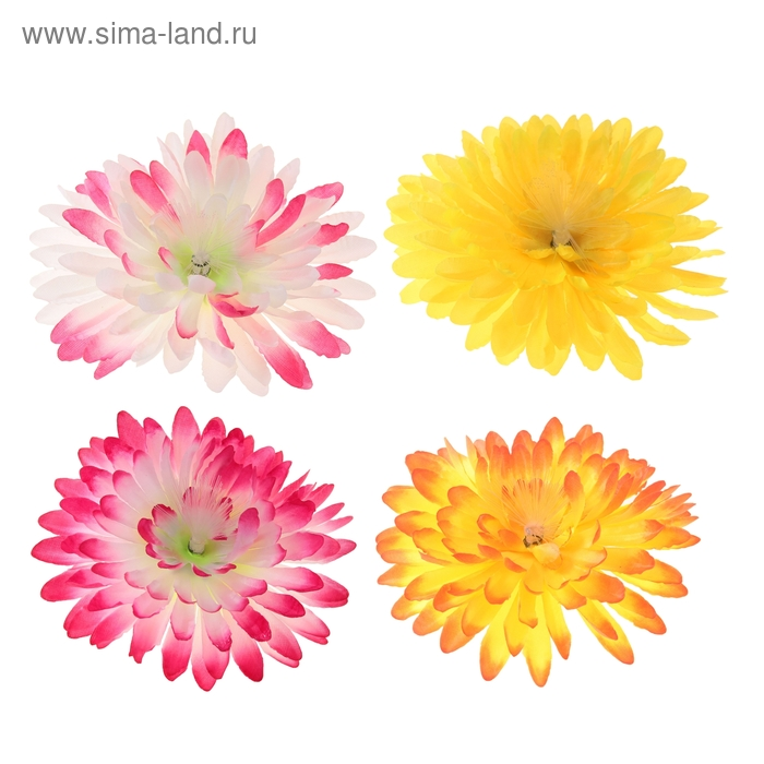 "Цветок световой ""Хризантема"", цвета МИКС"