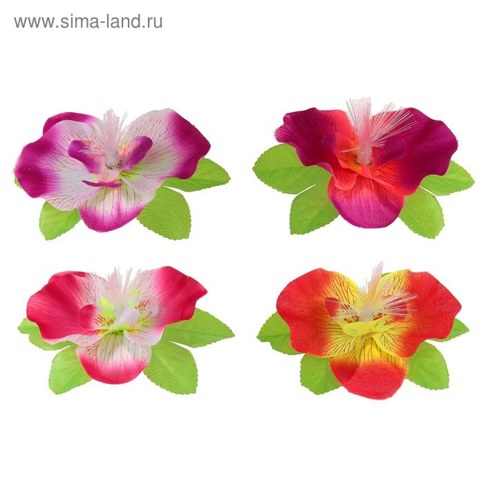 """Цветок световой """"Орхидея"""", цвета МИКС"""