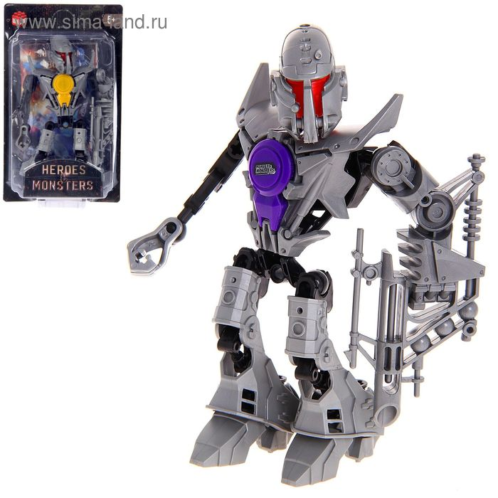 """Робот-конструктор """"Монстр Magnito"""", 16 деталей"""