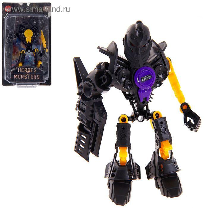 """Робот-конструктор """"Монстр Fantom"""", 17 деталей"""