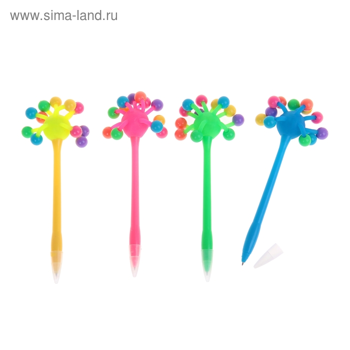 """Ручка световая """"Шарики"""", цвета МИКС"""
