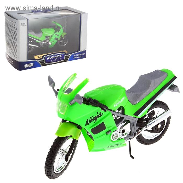 "Мотоцикл 1:18 ""Kawasaki Ninja 600R"""