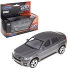 Машина металлическая BMW X6, 1:43, цвета МИКС