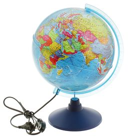 Глобус политический диаметр 250мм 'Классик Евро' с подсветкой Ош