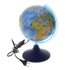 Глобус физический диаметр 210мм 'Классик Евро' с подсветкой Ош