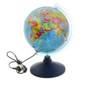 Глобус политический диаметр 210мм 'Классик Евро' с подсветкой Ош