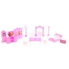 Мебель для куклы, 12 предметов