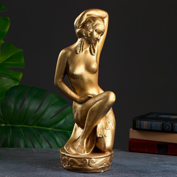"""Статуэтка """"Купальщица"""" золото"""