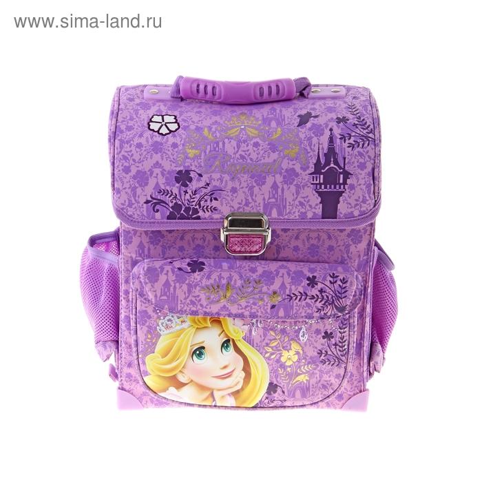 """Ранец на замке Disney """"Принцессы"""" 34*27*12, для девочки"""