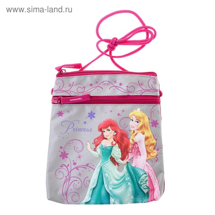 """Сумочка детская для девочки Disney """"Принцесса"""" 20*17,5*2,5 см"""