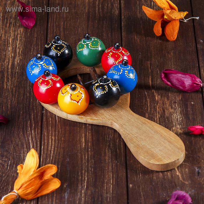 Маракас с шариками и пластинами