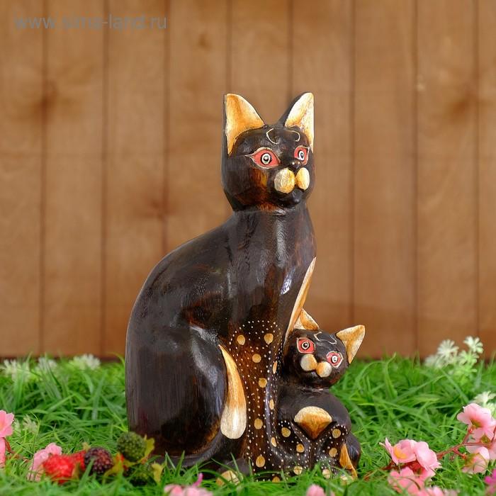 "Сувенир ""Кошка с котиком"""