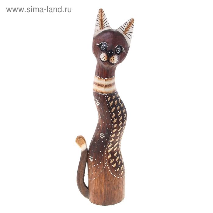 """Сувенир """"Котёнок с полосатыми ушками"""", 50 см"""