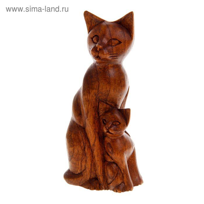 """Сувенир """"Кошка с котенком"""""""