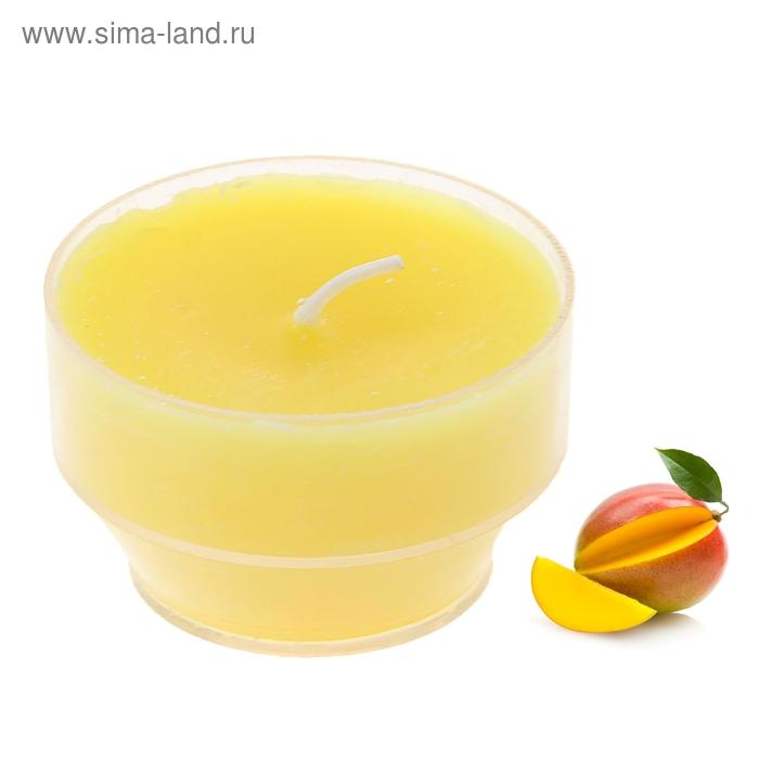"""Свеча восковая плавающая """"Тропический остров"""", аромат манго"""