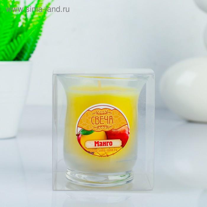 "Свеча восковая ""Романтика"", аромат манго"